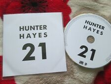 Hunter Hayes – 21 Atlantic Records CDr Promo Stickered CD Single