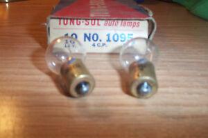 2 NOS TUNG-SOL CHRYSLER,DODGE,DESOTO,PLYMOUTH 1960s ,14VOLT LIGHT BULBS  #1095