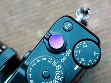 Selens Shutter Button Soft Release Metal Concave Purple Fuji X-T4 X-E3 X-Pro1