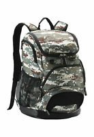 Speedo Printed 35L Teamster Backpack - Camo/Brown/Beige