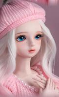 "24"" 1/3 PVC BJD MSD Dolls Lifelike Dolls Joint Dolls Women Girl Gift Selina"