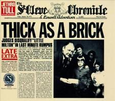 JETHRO TULL - THICK AS A BRICK [BONUS TRACKS] [LIMITED] [REMASTER] NEW CD