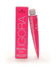 Schwarzkopf Igora Royal SENEA Hair Color 60ml - IGORA ROYAL HAIR COLOUR