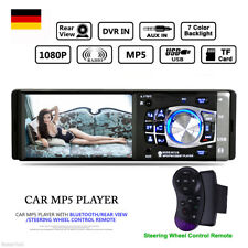 "4.1"" TFT 1080P AUTORADIO MP3 MP5 PLAYER BLUETOOTH 1DIN USB SD AUX-IN REMOTE"
