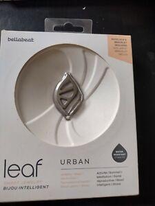 Bellabeat Leaf Urban Health Tracker Smart Jewelry Silver Edition