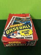 1984 Topps Super Unopened Wax Box! 36 Packs - RIPKEN-RYAN-BOGGS-STRAWBERRY