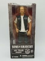 """Sons of Anarchy Jax Teller President SOA Mezco Toys 12"""" Action Figure New in Box"""