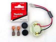 Makita Original Lagerschild 638921-2+Kohlebürsten CB 430+Kappen BGA452 BGD800