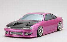 Yokomo 1/10 RC Car DRIFT BODY Shell 460 Power NISSAN S14 SILVIA   190mm