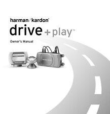 Harman Kardon DP-1 Drive + Play Owners Instruction Manual