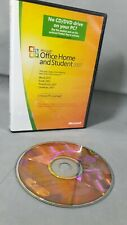 Microsoft Office Home And Student 2007 DVD ROM DISC