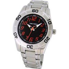 TIME FORCE TF-4134B04M  RELOJ CADETE ACERO  ANALOGICO  50M