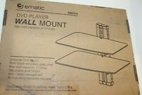 EMATIC DVD PLAYER WALL MOUNT, EMD 212 *Ships from USA* Free Shipping