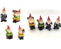 4x7cm Fairy Garden Gnomes Fairy Garden House  Miniature Figurine Garden Décor
