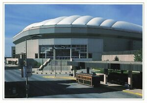 Postcard Ephemera The Hoosier Dome and Indiana Convention Center Indianapolis IN