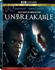 Unbreakable [New 4K Uhd Blu-ray] With Blu-Ray, Ultimate Ed, 4K Mastering, Coll