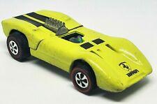 1970 Ferrari 312P Redline Hot Wheels Yellow HK