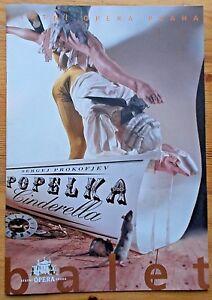 Popelka Cinderella ballet programme Statni Opera Praha 14/02/2006 Prague