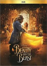 Beauty and the Beast (DVD 2017) Disney Fantasy Live Movie  Brand New Sealed