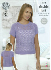 Hobbies & Crafts DK/Double Knit Sweaters Patterns