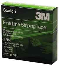 "3M 6314 Scotch Fine Line Striping Tape 550"" Length & 1"" Width 06314"