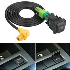 1x Car AUX USB Switch Cable Fit For RCD510 RCD310 VW Golf GTI/R MK5 MK6 Jetta US