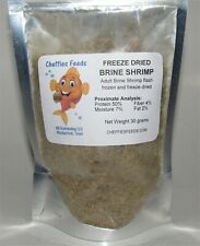 Freeze Dried Brine Shrimp flash frozen/freeze dried aquarium tropical fish food