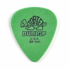 72 DUNLOP Tortex Standard .88mm Guitar Picks Green 418r88