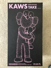 KAWS Take Companion Figure Black - Damaged Box, Figure Brand New