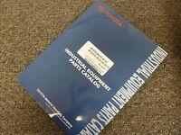 Toyota Models 8FGU30 & 8FGU32 Forklift Lift Truck Parts Catalog Manual Book