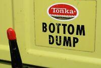Mighty Tonka Bottom Dump Truck Lime Green construction - Pressed Steel - Toronto
