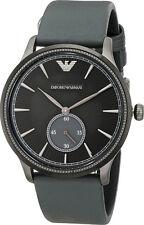 Emporio Armani Classic Watch Gunmetal Grey/Black Quartz Men's Watch