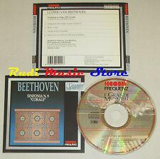 CD BEETHOVEN Sinfonia n 9 corale 1990 grandi musicisti FREQUENZ lp mc dvd