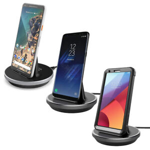 One Plus 7/Pro TYPE C Charging Cradle Desktop Charger Stand Data Docking Station
