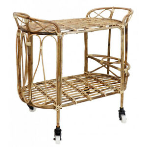 Side Table/Serving Cart, with Wheels, Tea Trolley