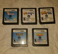 Nintendo DS Games Lot Petz Bunnyz Dogz Dolphinz Catz Nursery 2