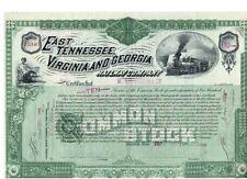 East Tennessee Virginia and Georgia Railway  1886