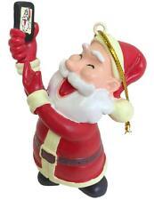 Tree Buddees Selfie Santa Claus Christmas Ornament Funny Ornaments Cell Phone
