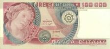 Italy 100,000 Lire Currency Banknote 1978