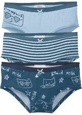 Mädchen-Panty Dreierpack Gr. 176/182 Kinder-Unterwäsche Slips Neu*
