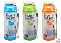 Lock & Lock Sports Drink Water Bottle With Carry Strap 350ml or 500ml