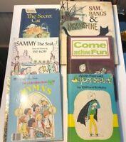 Lot of 6 Vintage 1959-1961-1962-1966-1974-1985 Children's Books