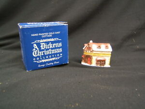 "A Dickens Christmas Collection ""Scrooge Counting House""Mini"" VGC"