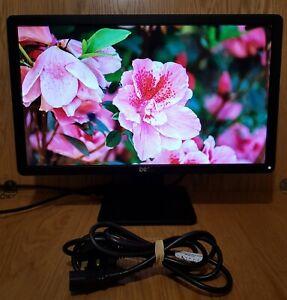 """Dell 19.5"""" inch LED Widescreen DVI (HDCP) VGA Monitor. DELL E2014Hf"""