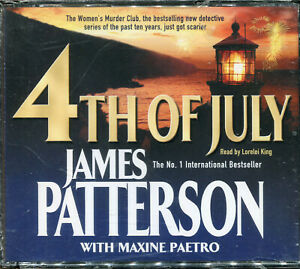 James Patterson 4th of July audiobook CD NEW abridged