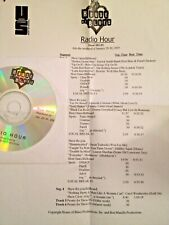 RADIO SHOW: HOUSE OF BLUES STARS 1/29/05 ROLLING STONES,TOMMY CASTRO,HOWLIN WOLF