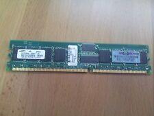 Molulos RAM 1GB PC2700 ECC REGISTERED 331562-051 358348-B21 367167-001