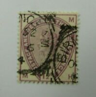 1883 Great Britain SC #99 QUEEN VICTORIA Good Color  CDS  Used stamp