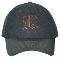 NCAA Zephyr Miami Hurricanes Tribute Heritage Collection Gray Wool Adj Hat Cap