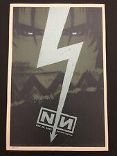 Nine Inch Nails Nin Rare Todd Slater 2005 Silkscreen Poster Tempe Arizona Az S/N